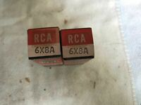 RCA 6X8A x2.Brand new. Still in box. NOS.