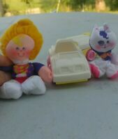 Vintage Fisher Price Smooshees Kathy and Kitty Camp 1987