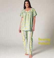 Kwik Sew K4145 PATTERN Women's Top. Nightgown & Pants - BN Sizes 1X-4X
