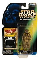 "Star Wars 3.75"" Zuckuss Figure Power Force 1997 Kenner Hasbro & Action Slide"