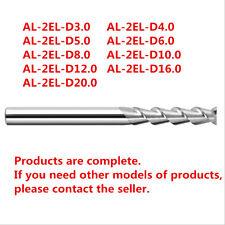 D20mm Long-edge Flat end mill 2-Flute Alloy Milling Cutter 1pcs AL-2EL-D20.0
