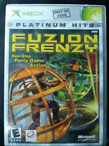 New Factory Sealed Fuzion Frenzy Platinum Hits (Microsoft Xbox, 2004)