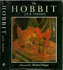 THE HOBBIT - J.R.R.TOLKIEN Illustrations MICHAEL HAGUE (HCDJ; 1984)
