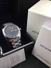 EMPORIO ARMANI Silver Sportivo Mens Watch AR6128 NEW! $275 Retail