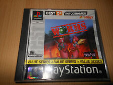 PS1  WORMS MINT COLLECTORS  PAL VERSION