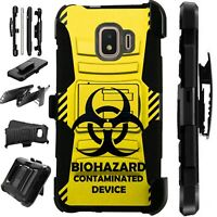 Luxguard For Samsung Galaxy S10/S9/S8/Plus Phone Case Cover BIOHAZARD YELLOW