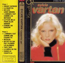 """K 7 AUDIO (TAPE) SYLVIE VARTAN  """"LA CASSETTE D'OR"""""""