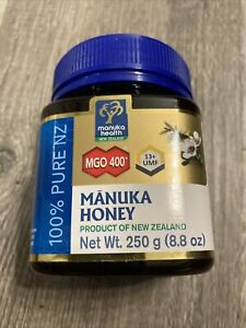 Manuka Health MGO 400 + Manuka Honey 100% Pure New Zealand 8.8 oz Exp.8/2023