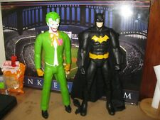 "DC COMICS BATMAN & JOKER 20"" Action Figure's 2014 Jakks Pacific"