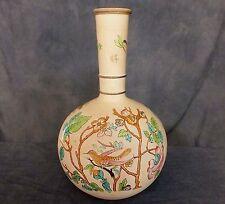 Lovely hand painted Torquay Aesthetic bottle vase.