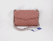 Rebecca Minkoff Mini Quilted Affair in Taupe with Silver Hardware NWT
