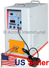 10KW 100-500KHz Hi-Freq Solid State Compact Induction Heater Melting Furnace