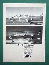 5/1974 PUB AERMACCHI VARESE AVION MB 326 TRAINER 12 FORCES AERIENNES FRENCH AD