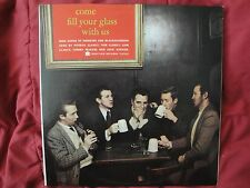"""Jack Keenan the Clancy Brothers Tommy Makem """"COME FILL YOUR GLASS WITH US"""" 1959"""