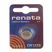 Renata Swiss Made Lithium CR1220 Cell Coin Button Battery 3V Watch Popular x 10