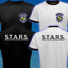 STARS Resident Evil Umbrella Corp Biohazard RPD DEP Racoon Police Capcom T-Shirt