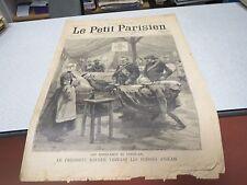LE PETIT PARISIEN 566 1899 président KRUGER ambulance