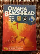 Omaha Testa Di Ponte Completo da giochi VITTORIA Filiale di Avalon Hill WW2 Flags