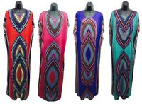 Kaftan Free Size loose Hippy Boho Kimono Sleeves Bat Wings African Dashiki Dress