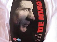 Robert De Niro Collection (DVD, 2006, 5 Disc Set, Box Set) STEELBOOK ^disp.24hrs