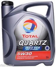 aceite total quartz ineo 5w30 5l ecs aceite de motor para filtro de particulas