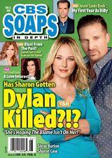 Steve Burton & Sharon Case, Jason Thompson - February 6, 2017 CBS Soaps In Depth