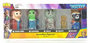 Bif Bang Pow! Guardians of the Galaxy Vol. 2 Pin Mate Wooden Figure Set Groot