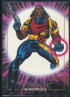 1992 Marvel Masterpieces Trading Card #6 Bishop