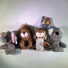 Jungle Finger Puppets Koala Lion Tiger Elephant Lot of 4 Aurora #06656