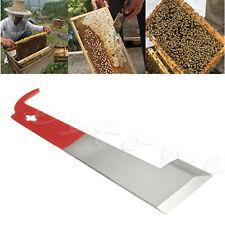 Stainless Steel Beekeeper J Shape J-type Hive Tool Beekeeping Hook Equip Scraper