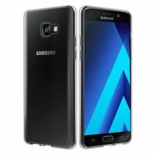 Soft TPU Silicon Clear Gel Back Skin Case Cover For Samsung Galaxy A3 2017