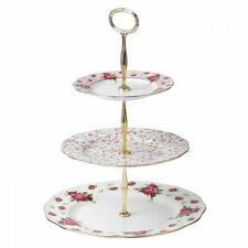 New Royal Albert Vintage Cake Stand Three-Tier