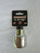 Powerbuilt 643212 3//4-Inch Drive 12 Point 1-5//8-Inch Socket