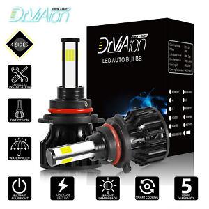 2020 4 côtés 200W 30000LM 9005 HB3 Auto LED Ampoule Voiture Lampe Kit Phare Feux