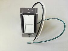 A10 120VAC Two Button Wal Mounted Transmitter TK124W