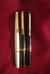 Vintage Lot of 3 SAILOR, 21k Gold nibs