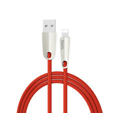 Premium 2 meter Oplaad Kabel Lightning USB voor Apple iPhone en iPad Rood
