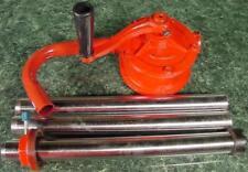 55 Gallon Drum Rotary Hand Pump Diesel Oil Fuel Barrel Self Priming Pump 6 Gpm