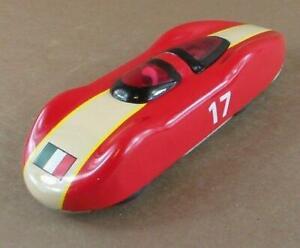 """Schylling 6"""" Racecar Race Car Friction and Spark Italy Italian Flag on Hood"""