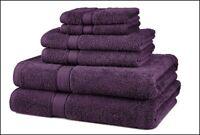 Oversized Bath Towels Egyptian Cotton Set Purple Sheet Towel Washcloth Luxury