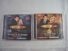 Doctor Who The Feast of the Drowned & The Stone Rose Audio CD's