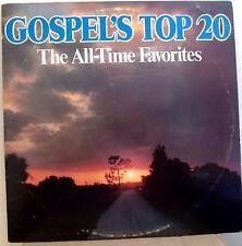 Gospel's Top 20 All Time Favorites Gospel Music LP Album Country Stars