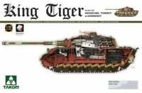 Takom German King Tiger Sd.Kfz.182 Henschel Turret with Zimmerit 1:35 2045s