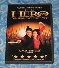 Quentin Tarantino Presents Hero Dvd Disc Jet Li Tony Leung Donnie Yen 2002