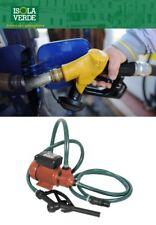 KIT PER TRAVASO GASOLIO C/POMPA 220V C/TUBO + PISTOLA hp 0,5 40LT/MIN 507414