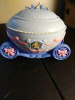 Disney Princess Cinderella Jewelry Music Box Carriage Coach