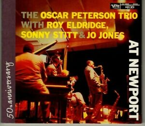 Oscar Peterson Trio - At Newport - CD - 50th Anniversary - Verve