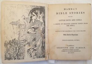 RELIGIONE BIBBIA MAMMA'S BIBLE STORIES FOR HER LITTLE BOYS AND GIRLS 13 INC.