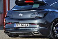 Ingo Noak Heckansatz Heck Diffusor Heckspoiler aus ABS für Opel Astra J OPC