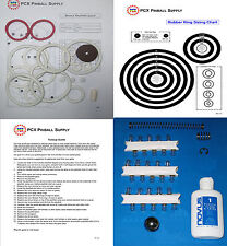 1977 Gottlieb Bronco Pinball Basic Tune-up Kit - Includes Rubber Ring Kit